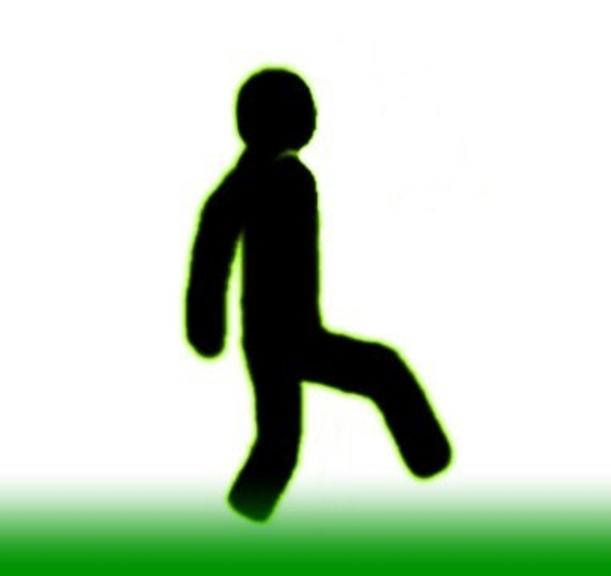 Raising One Leg–Kicking/Tripping/Clipping