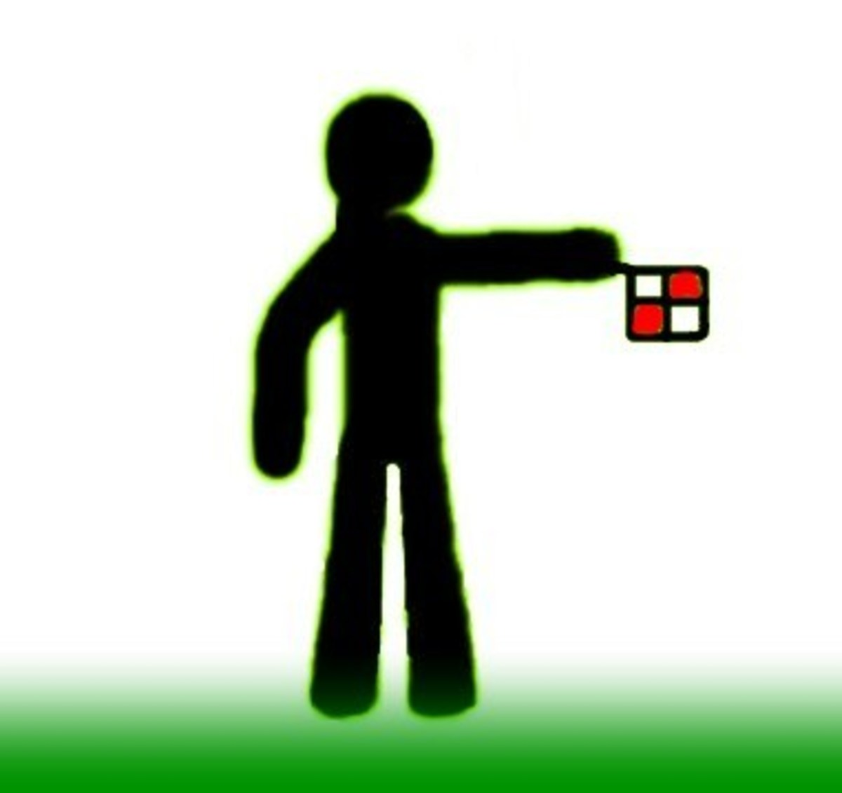 Pointing Using Flag–Direction to Play