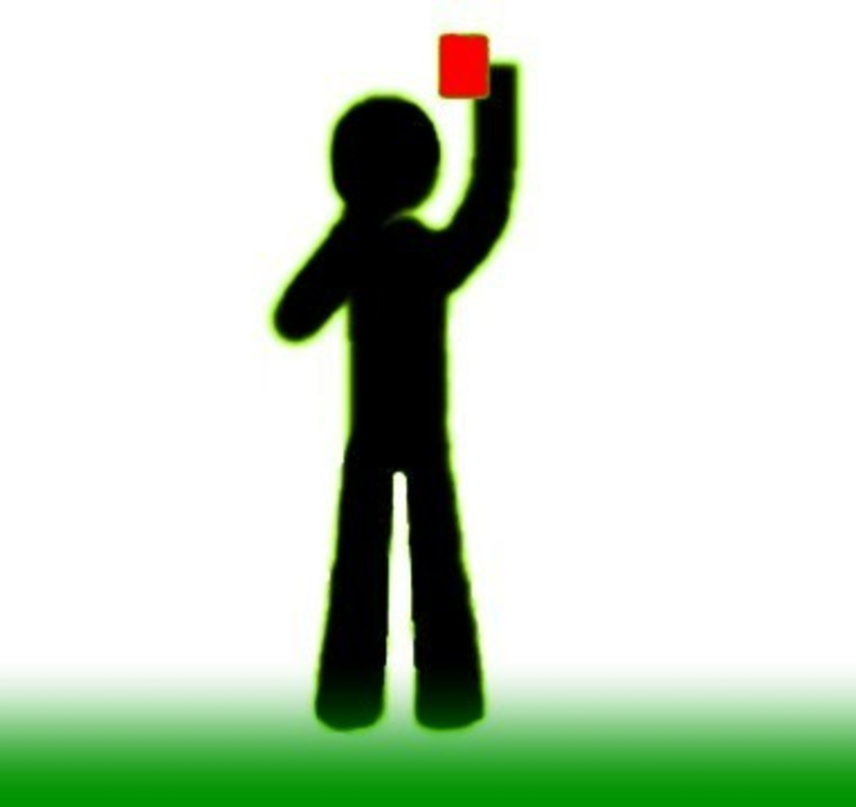 Showing Red Card–Player Dismissal