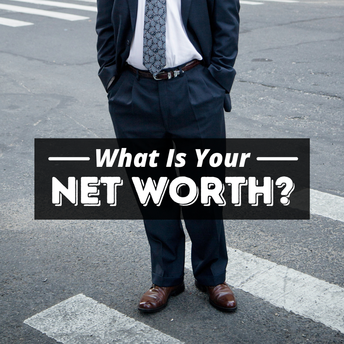 Your net worth is the value of all of your assets minus your debts.