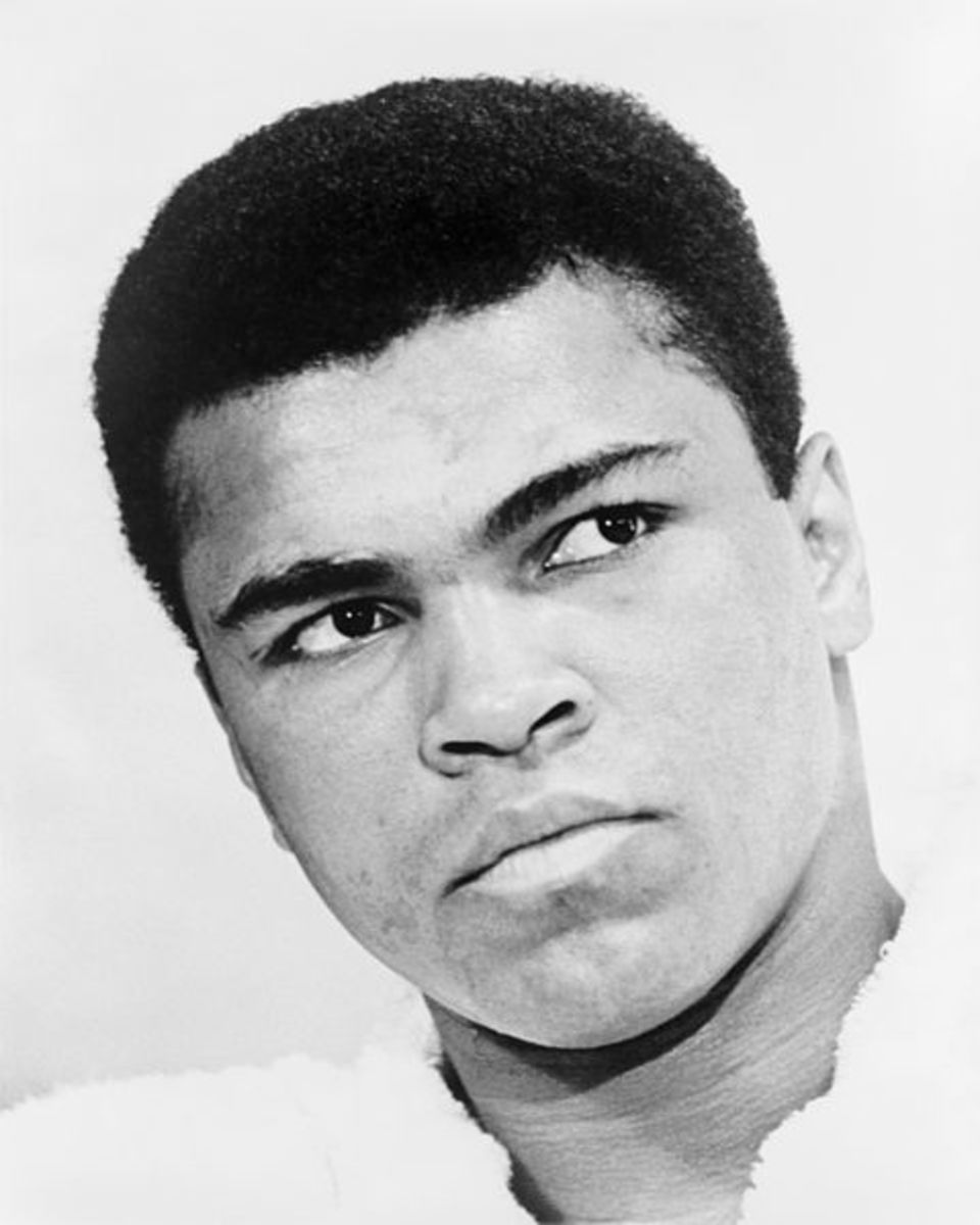 Muhammad Ali in his prime.