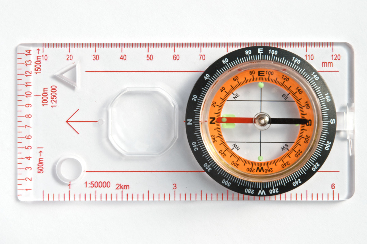 This is a base-plate compass.