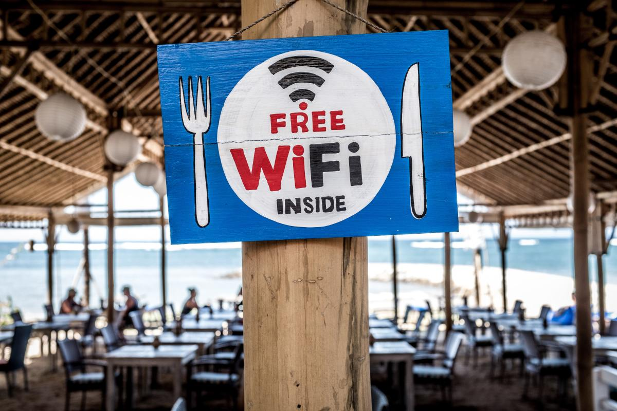 'Free' Wi-fi is a bane and a boon.