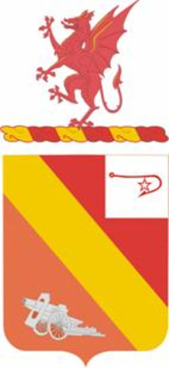 Coat of Arns of the 13th Field Artillery
