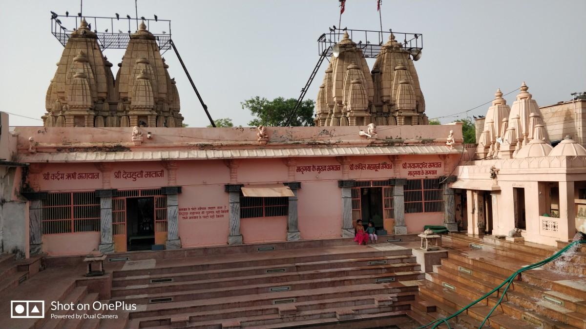 Mukhya Mandir (Main temple); Bindu Sarovar
