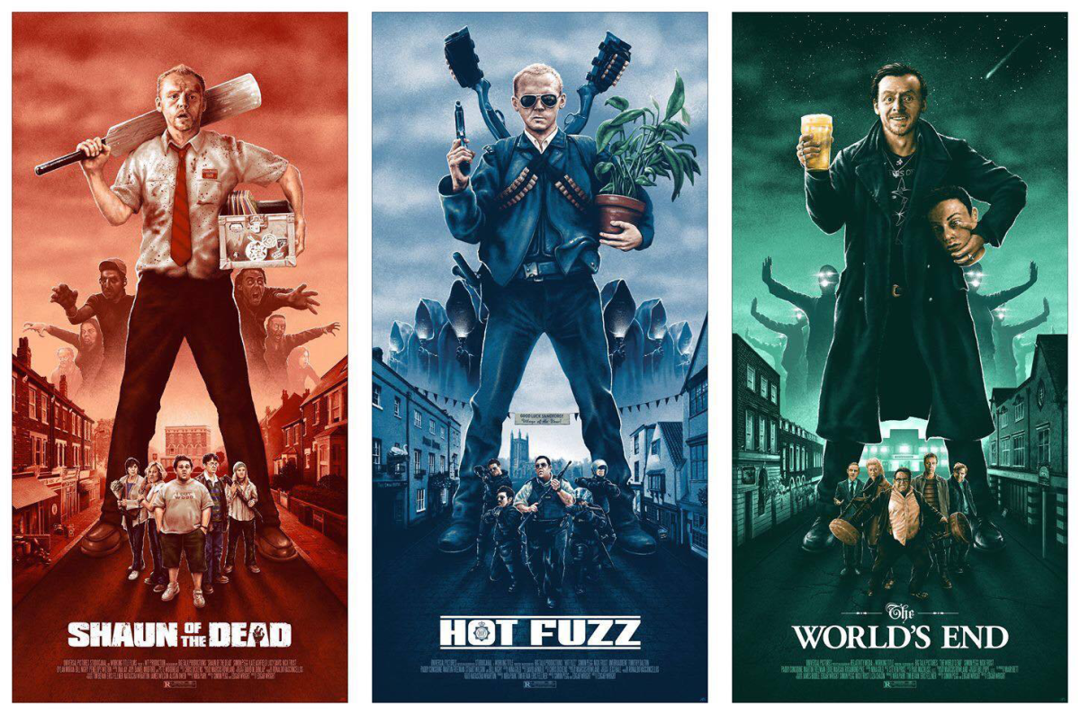 Three Flavour Cornetto Trilogy: The Three Flavours Of Cinema