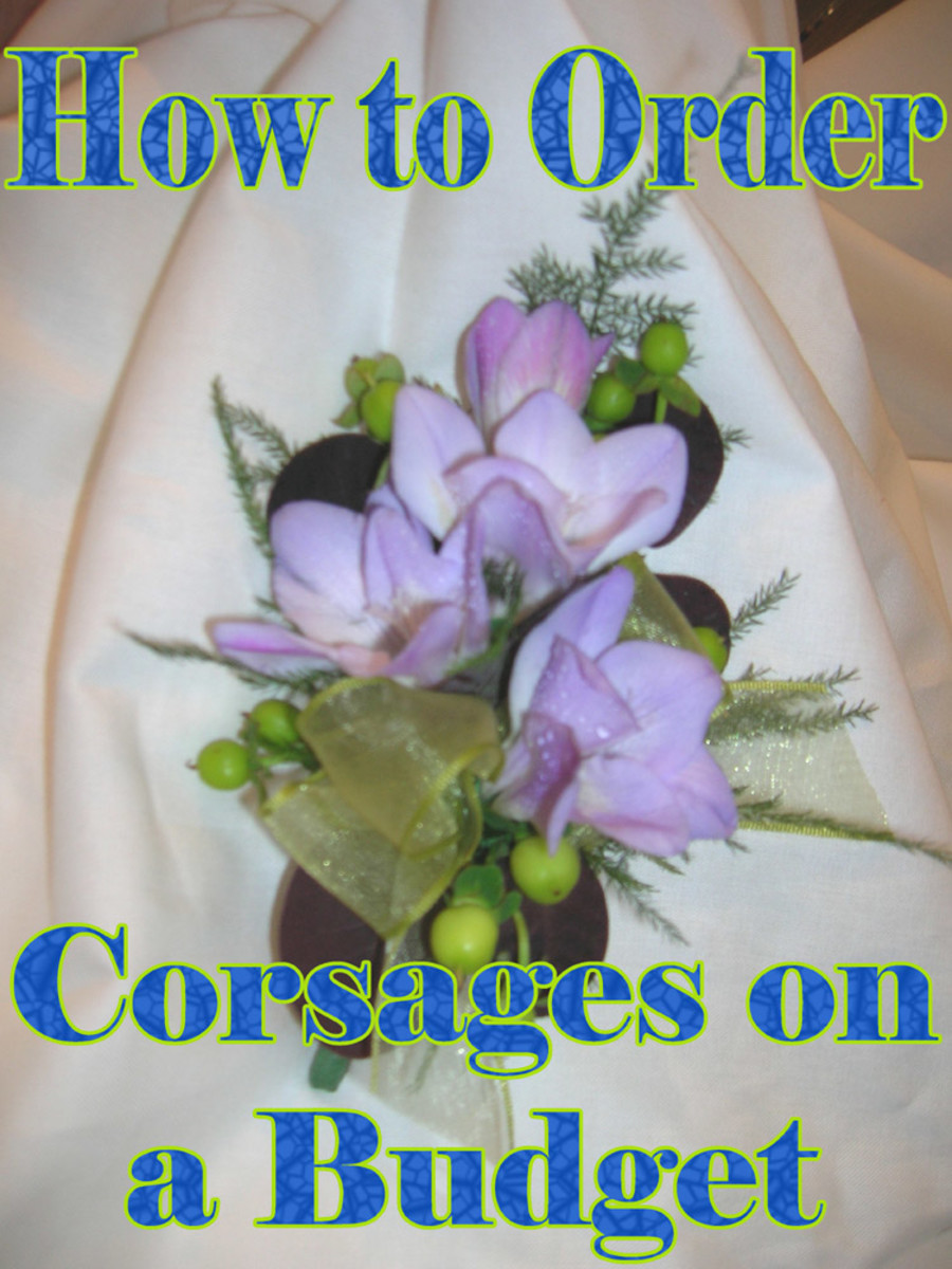 You can buy corsages on a budget without buying corsages that look cheap.