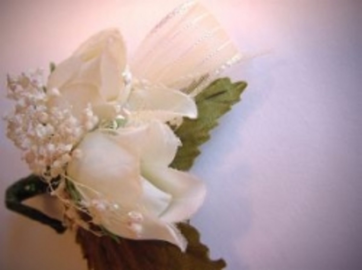 Prom corsage, photo by Pam Roth