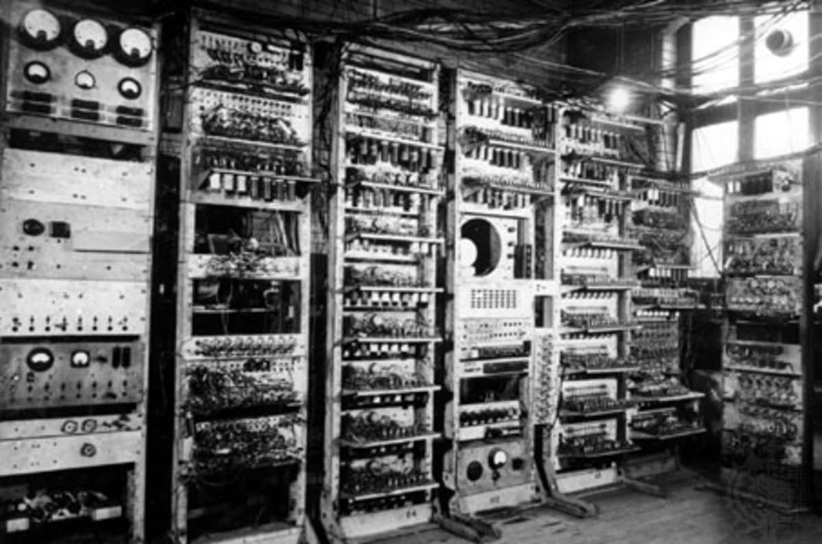One of the very first computers in the world