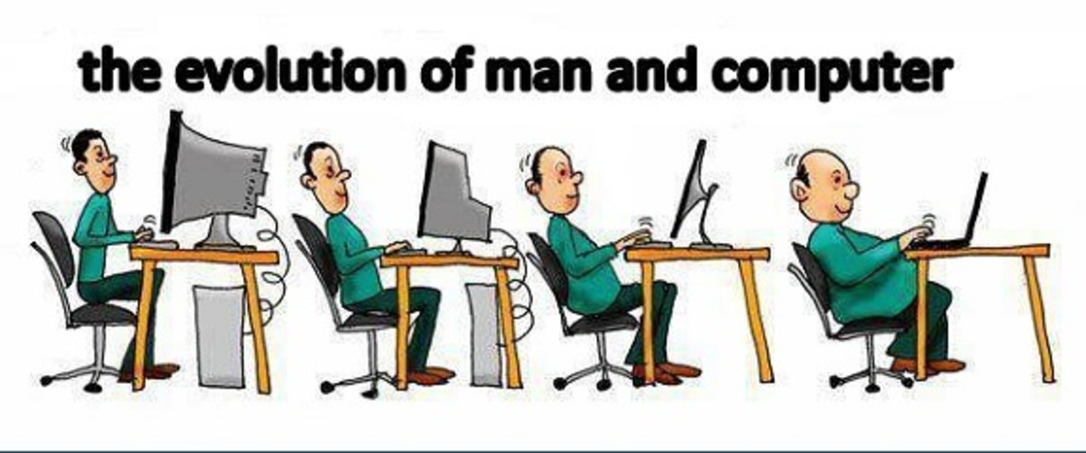 Evolution of men and computers