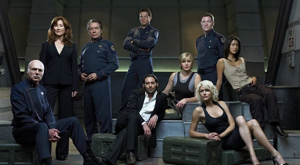 Syfy hasn't produced much high end content, but Battlestar Galactica definitely makes the list.
