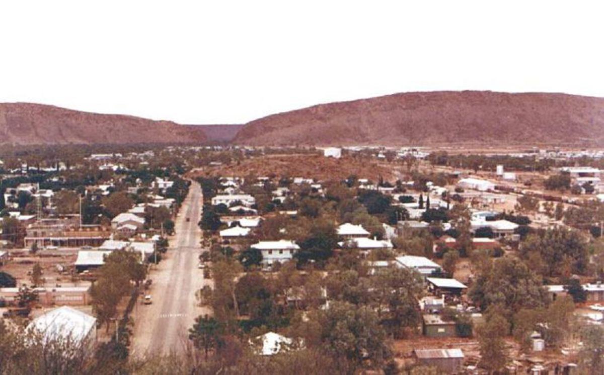 Alice Springs 1969 Central Australia