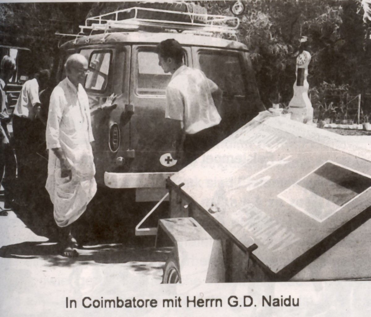 G.D.Naidu in South India