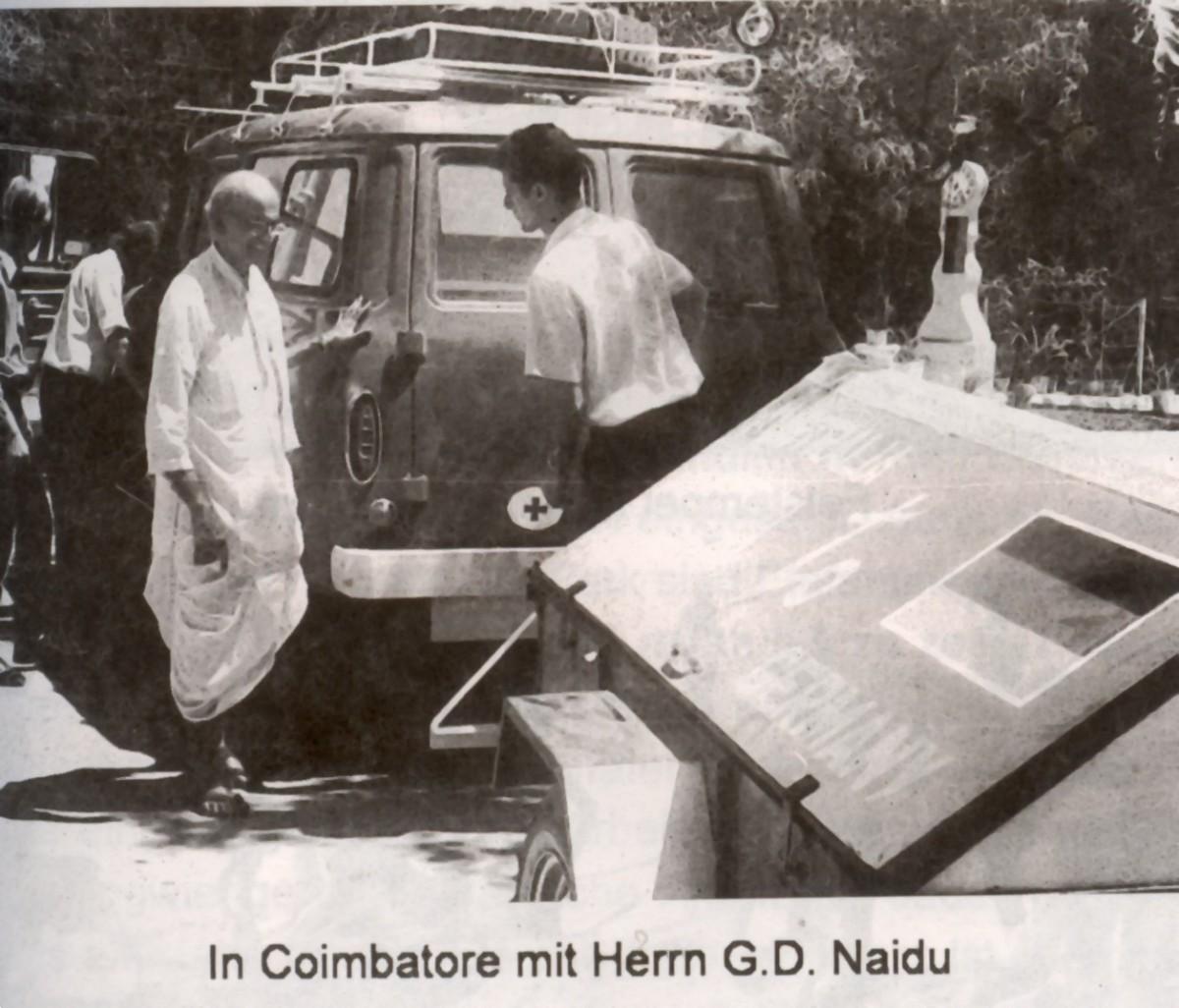 G.D.Naidu in South India
