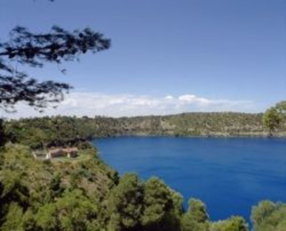 Mt Gambier Blue Lake S.A