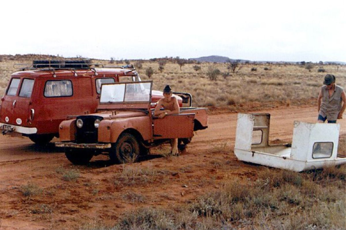 Abandoned cars & 4x4 are very common
