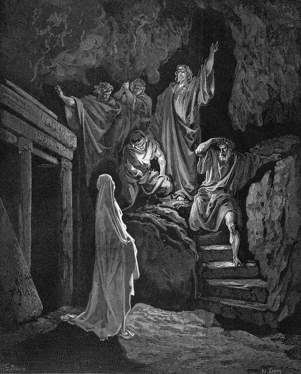 when Jesus raised Lazarus, the mourners were speechless with amazement, then shouted with happiness.