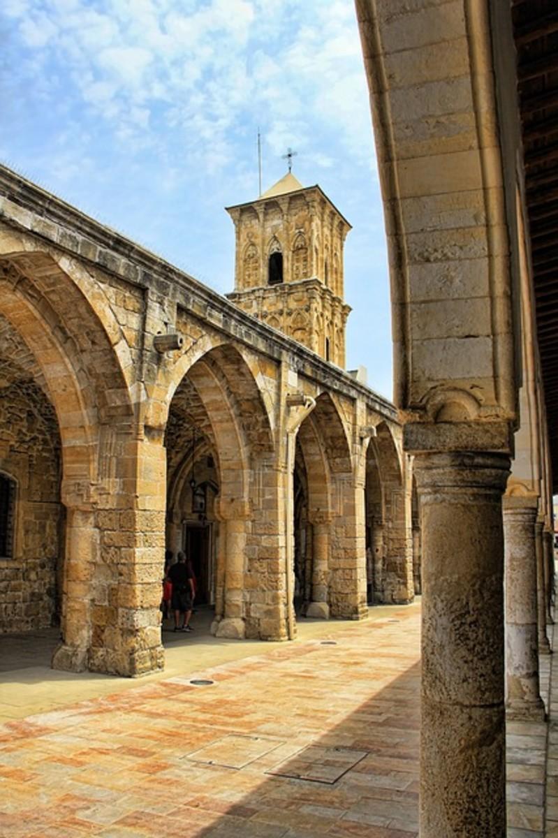 the church of St. Lazarus in Lanarka, Cyprus
