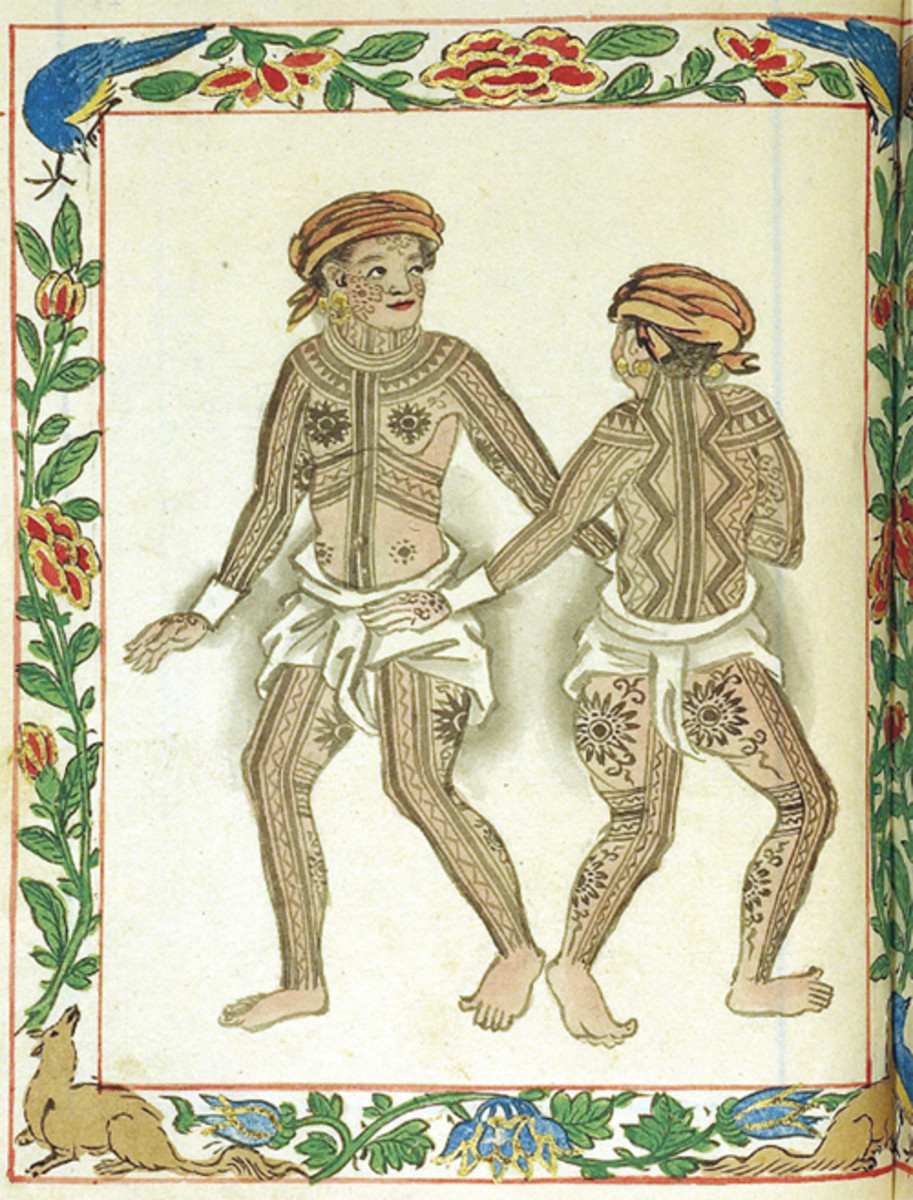 The Ancient Visayans, as portrayed in the Boxer Codex.