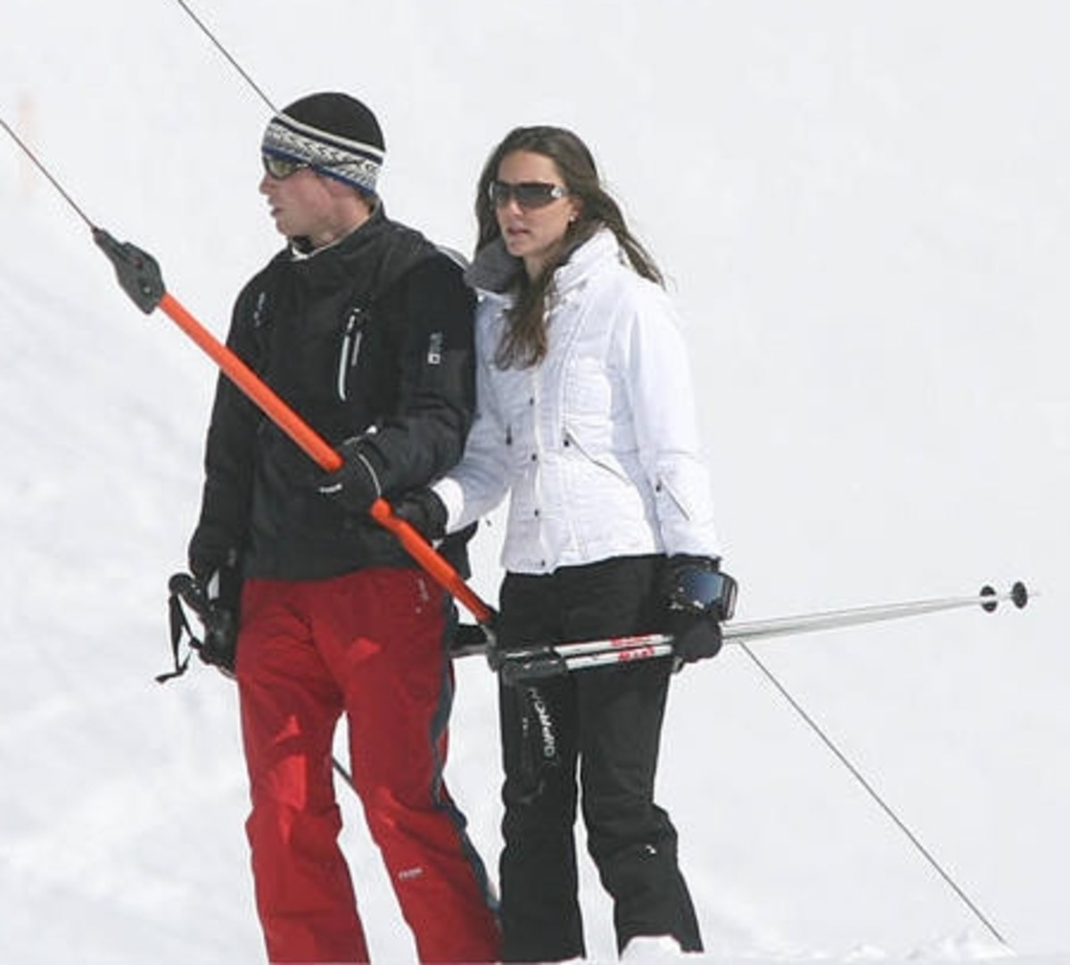 Kate and William at Klosters