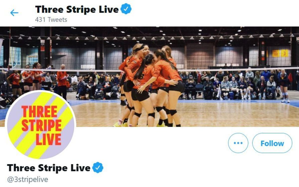 @3StripeLive sponsored by Adidas