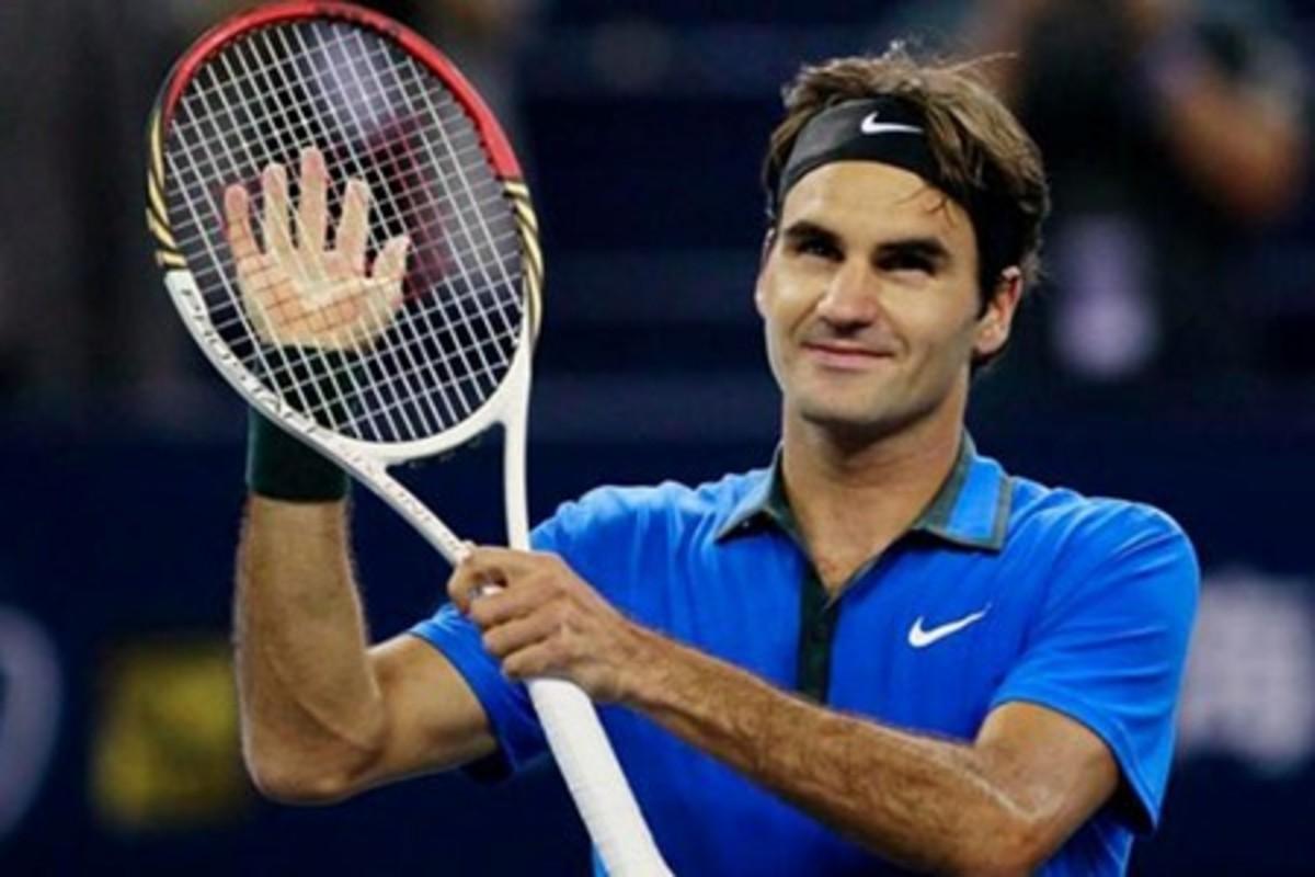 Nike Ambassador Roger Federer