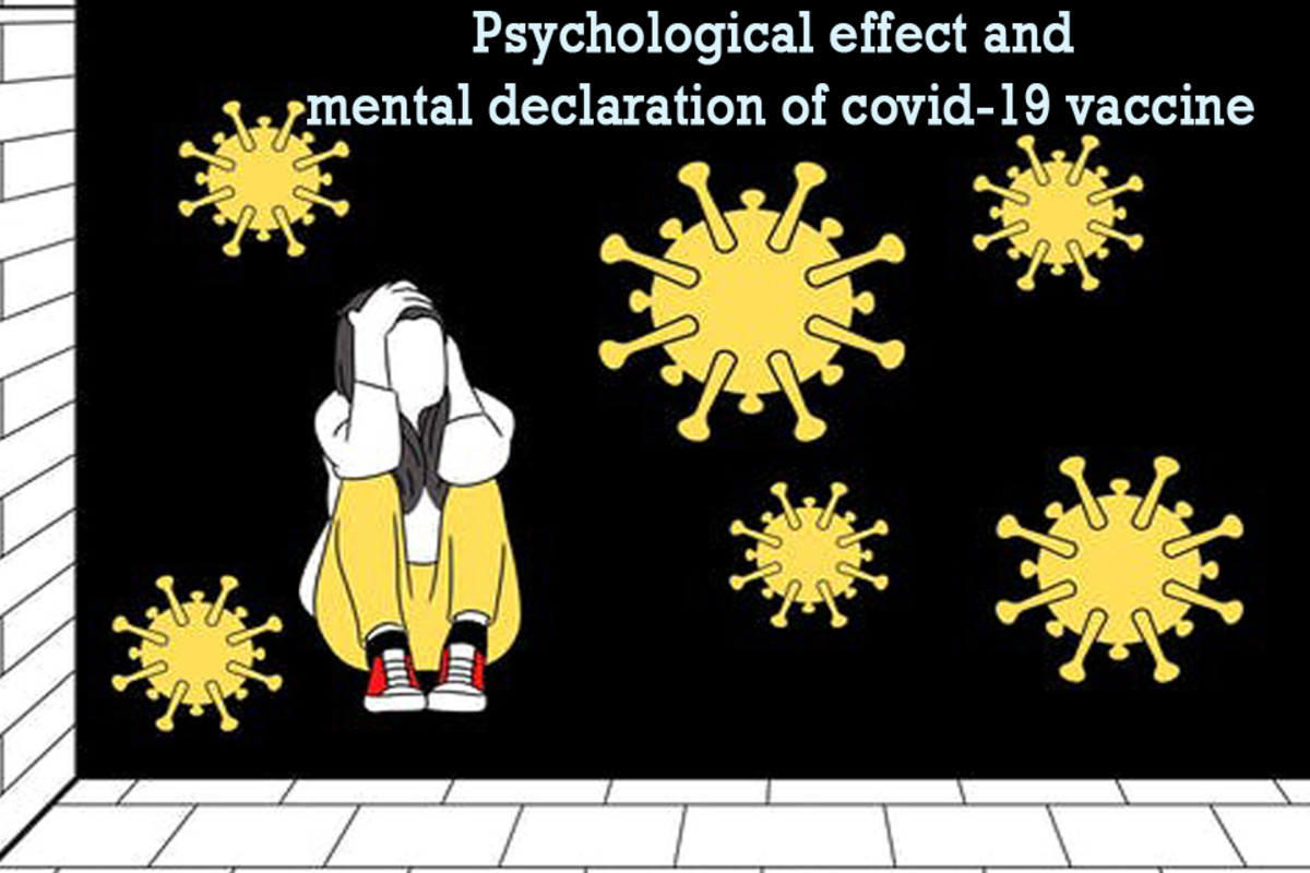 There is a sure psychological effect on people who are vaccinated.