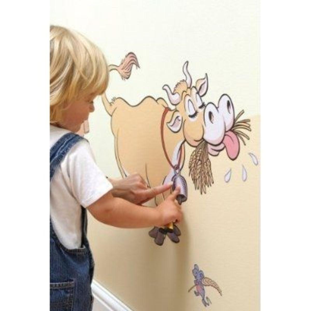 animal farm stencil