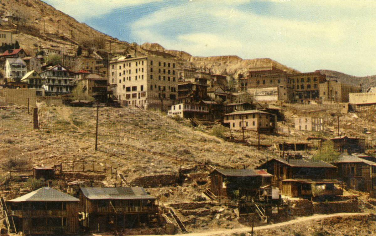 Jerome Arizona circa 1950, Almost a Ghost Town