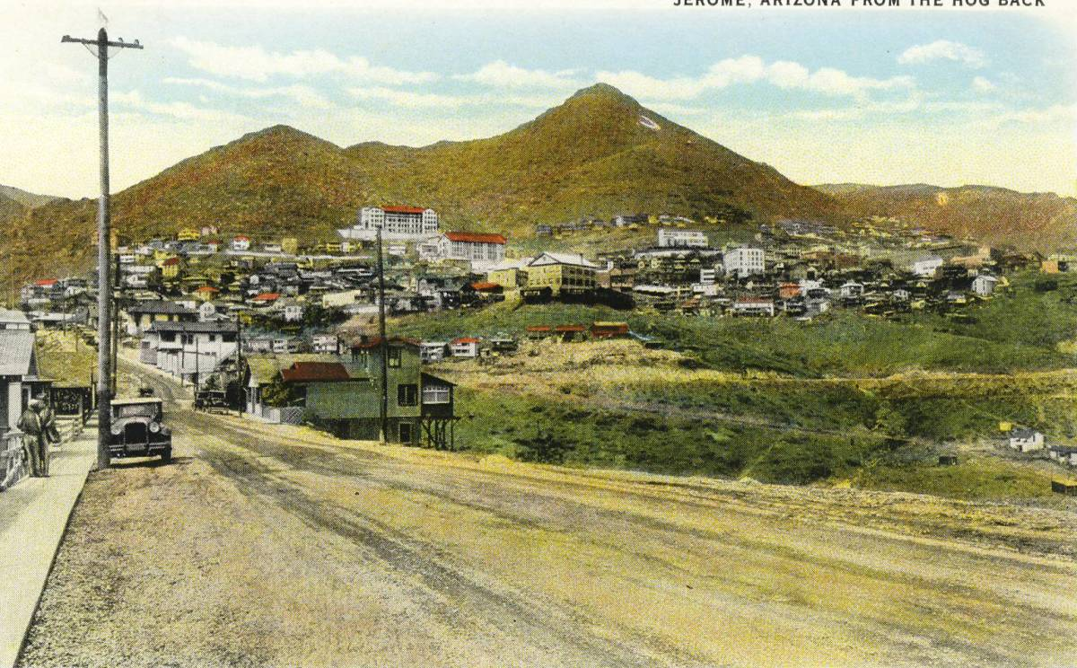Jerome Arizona from Copper Mining to Art Colony