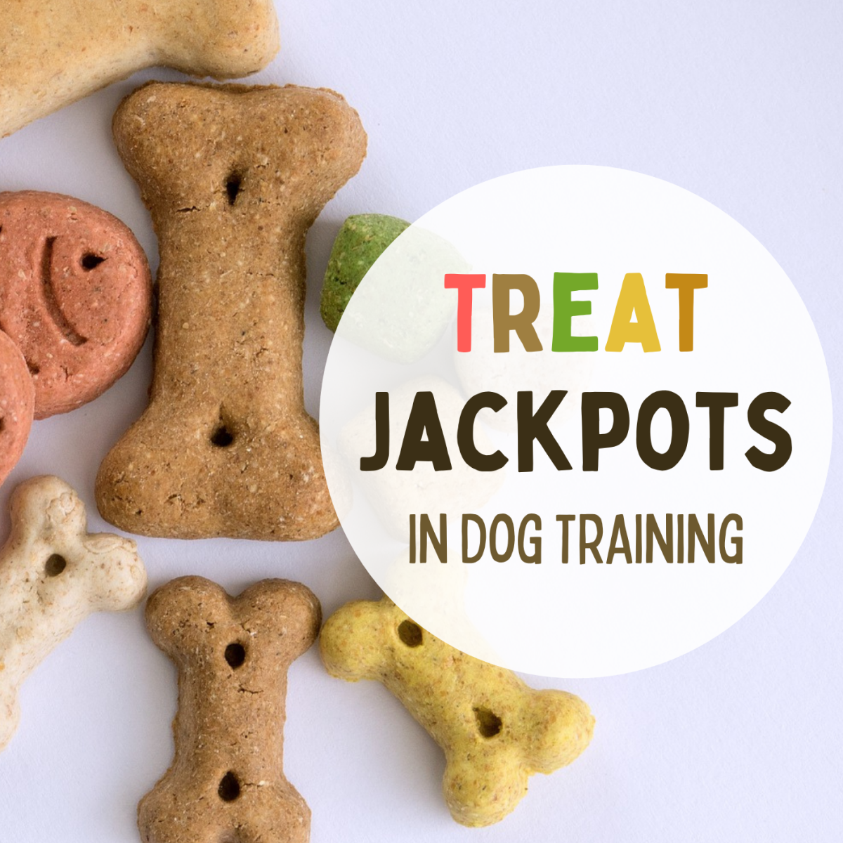 """Offering a """"jackpot"""" of treats in dog training can be an impactful reward, as long as it's done correctly."""