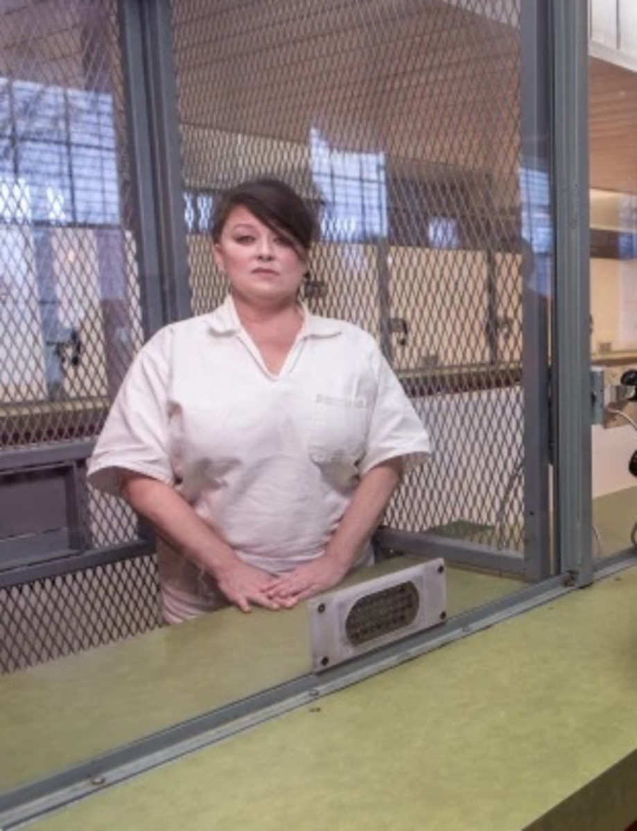 Darlie Routier in prison; appearing to have gained some weight in the past few years