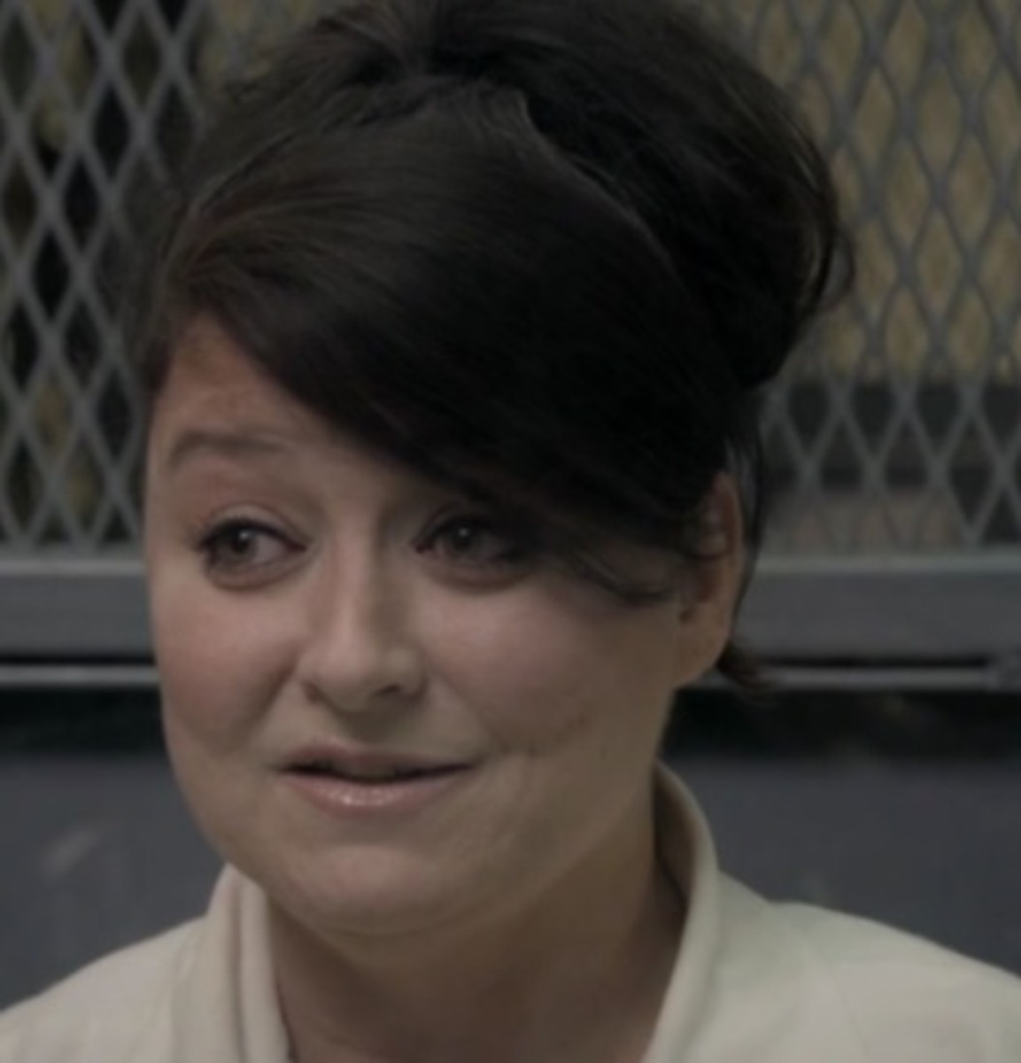 Recent photo of now 51 year old Darlie Routier on death row.