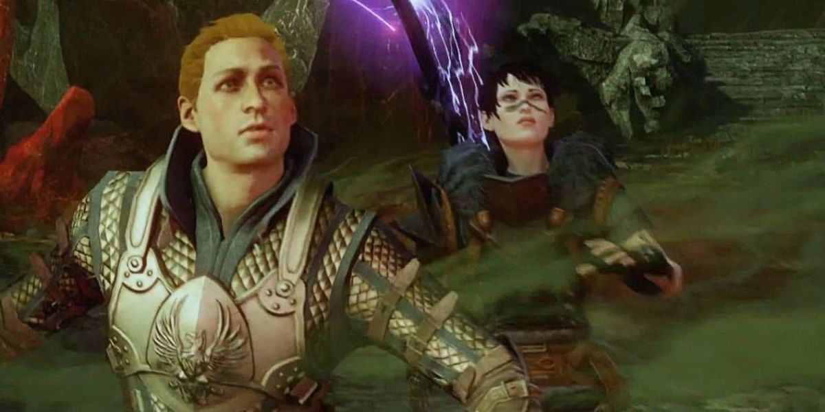 "Hawke in ""Dragon Age: Inquisition."""