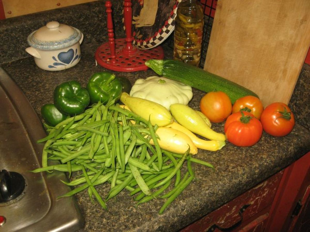 We love growing our own food!