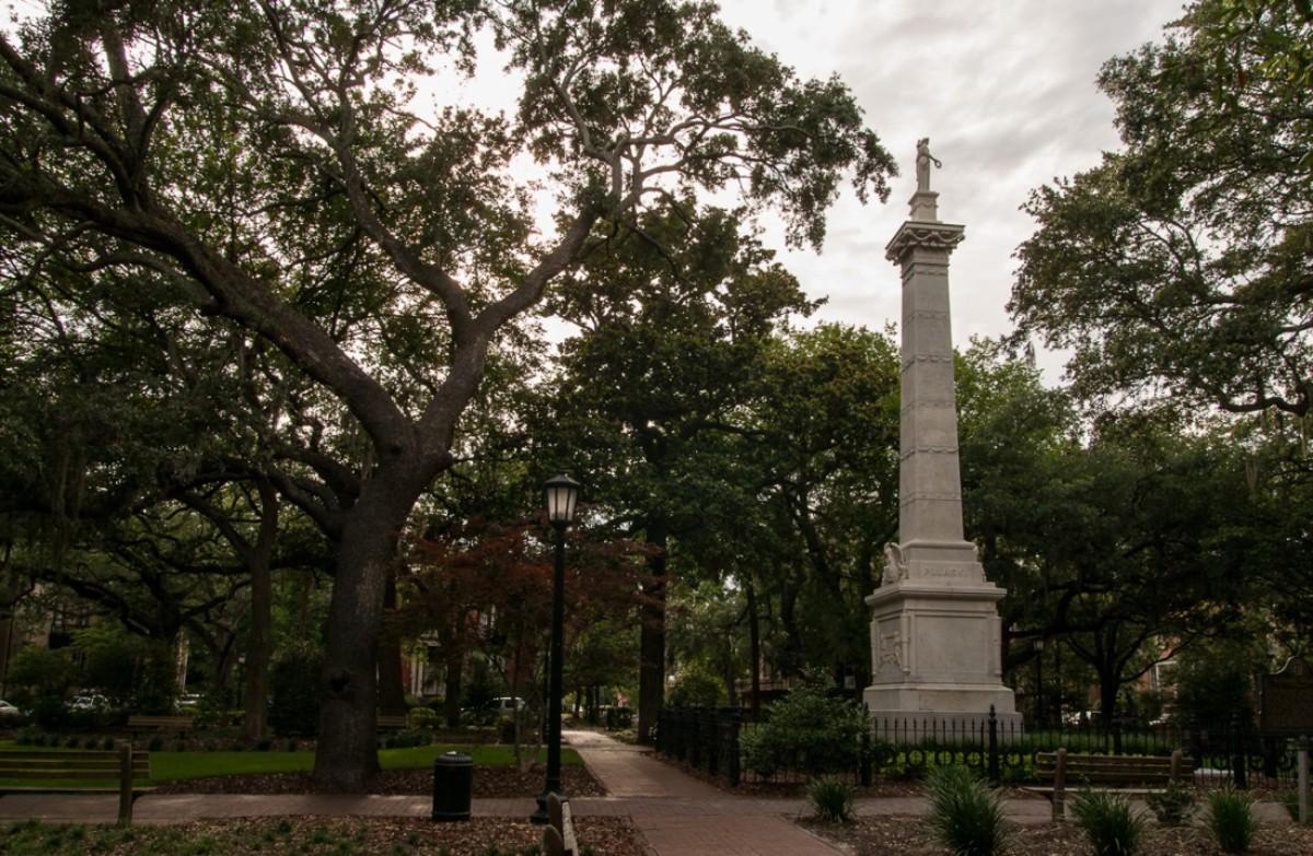 Pulaski Memorial & Burial Site, Savannah, Georgia