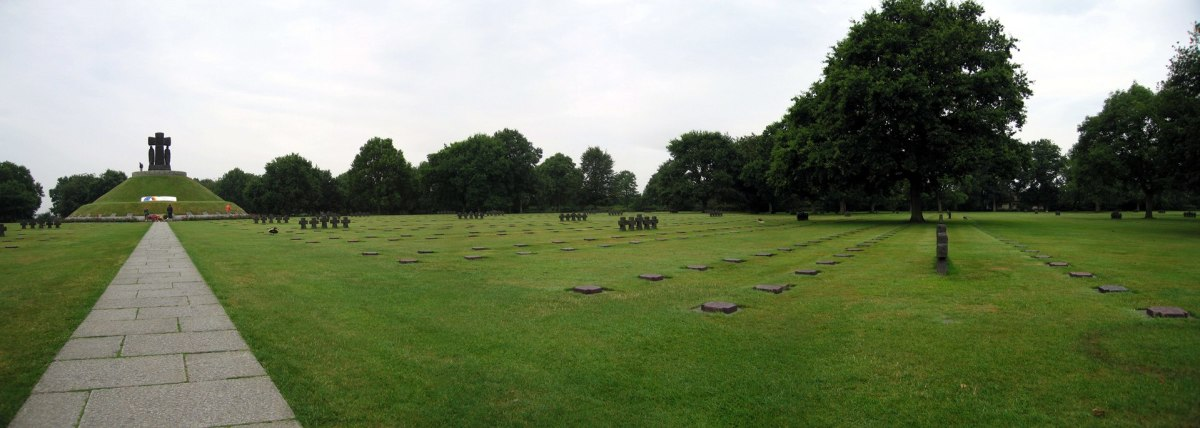The La Cambe German war cemetery, near Bayeux also near the beaches of D-Day.