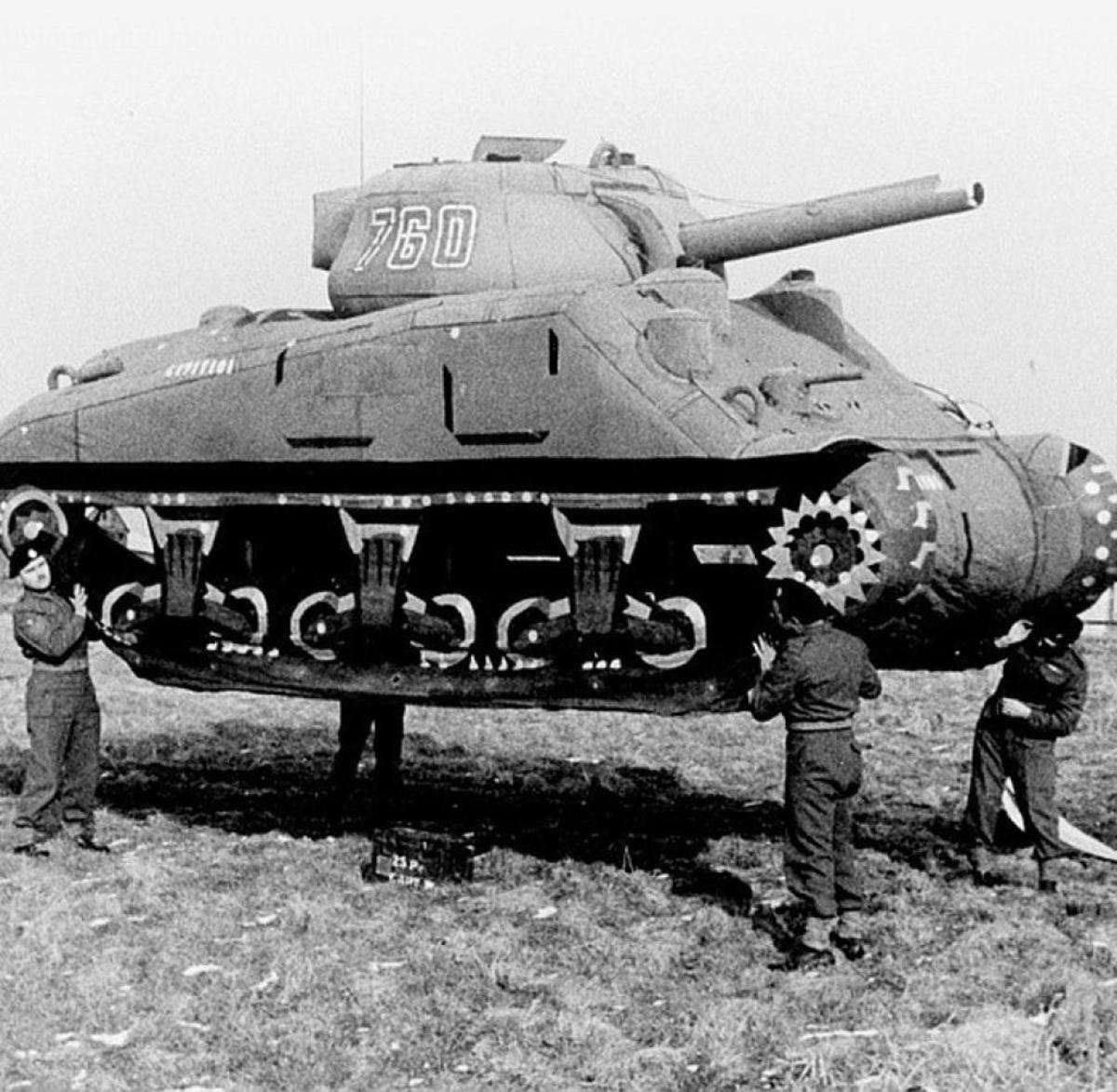 Operation Fortitude was created to confuse Hitler as to were the D-Day landings would take place. Using dummy tanks and landing craft Fortitude would create Allied ghost armies.