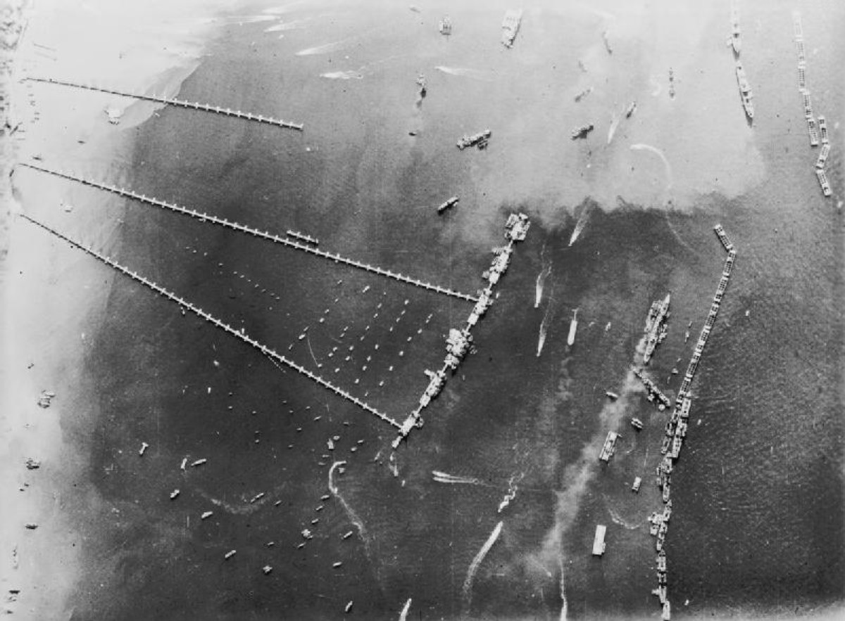 Once the Allies won the beaches the real battle for France would begin. The Mulberries would provide the means to bring in vast amounts of men and material to breakout of the bridgehead at Normandy. It would spell the end for the Third Reich.