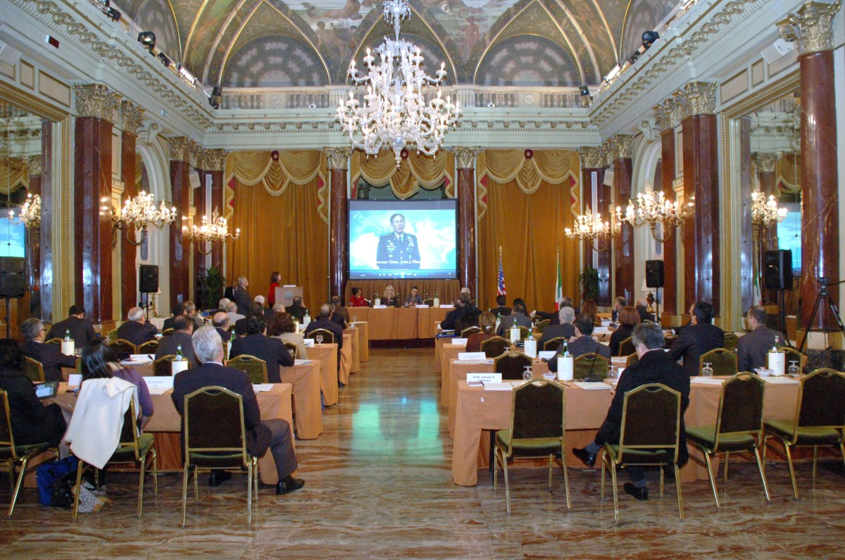 NESA Energy Forum in Rome, December 2011