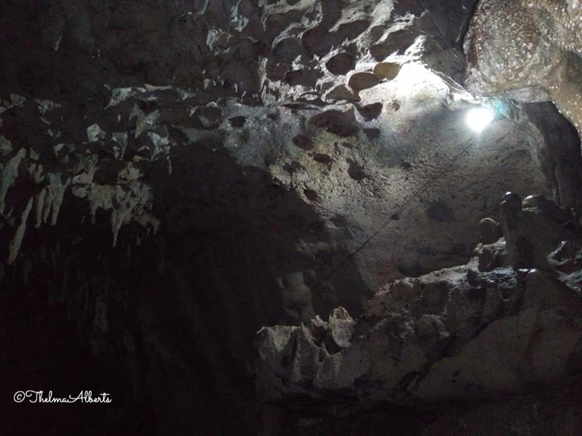 Hinagdanan Cave in Bohol.