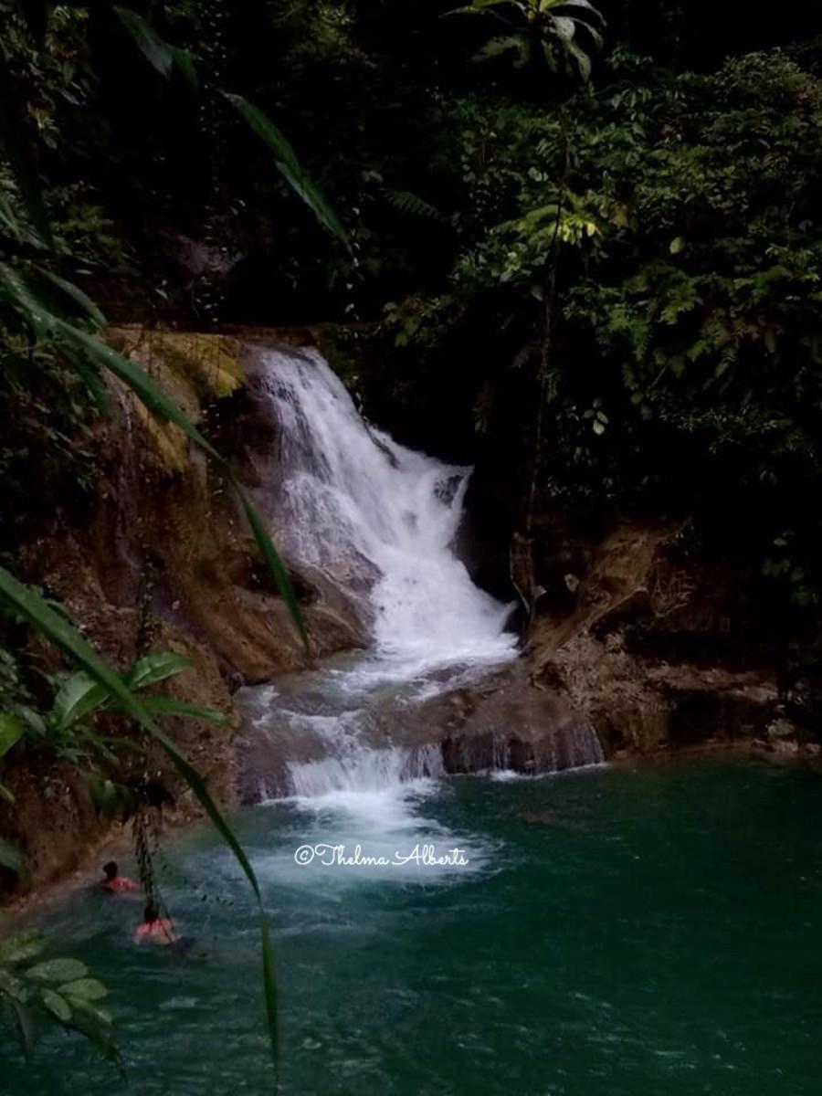 Mag-Aso Falls, Bohol.
