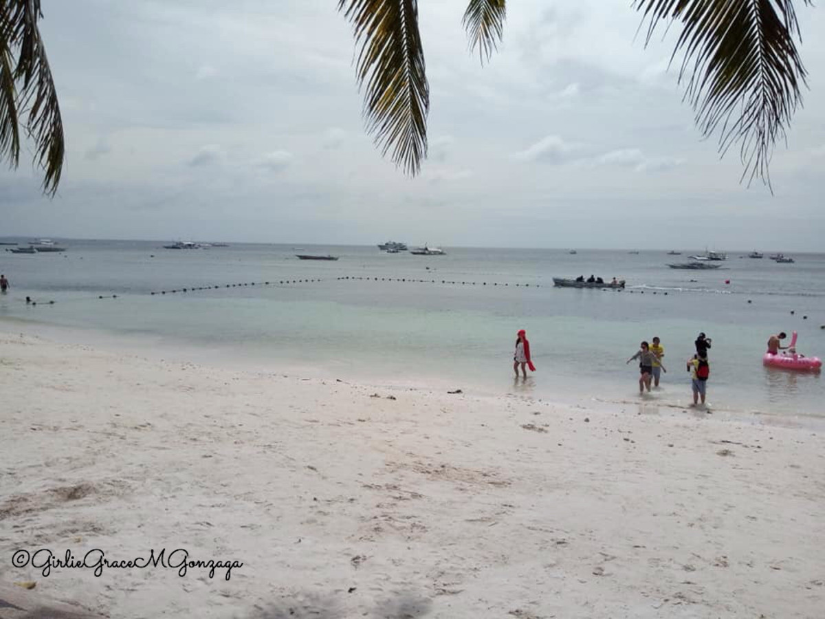 Alona Beach in Panglao, Bohol.