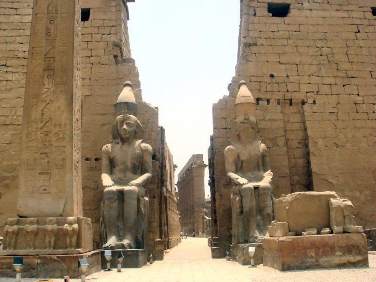 Temple of the Sun god, Egypt