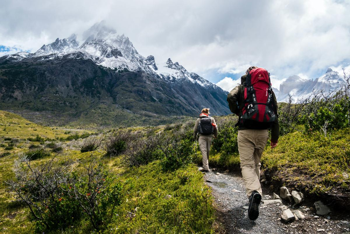 Simple navigation can keep you oriented on your hike.