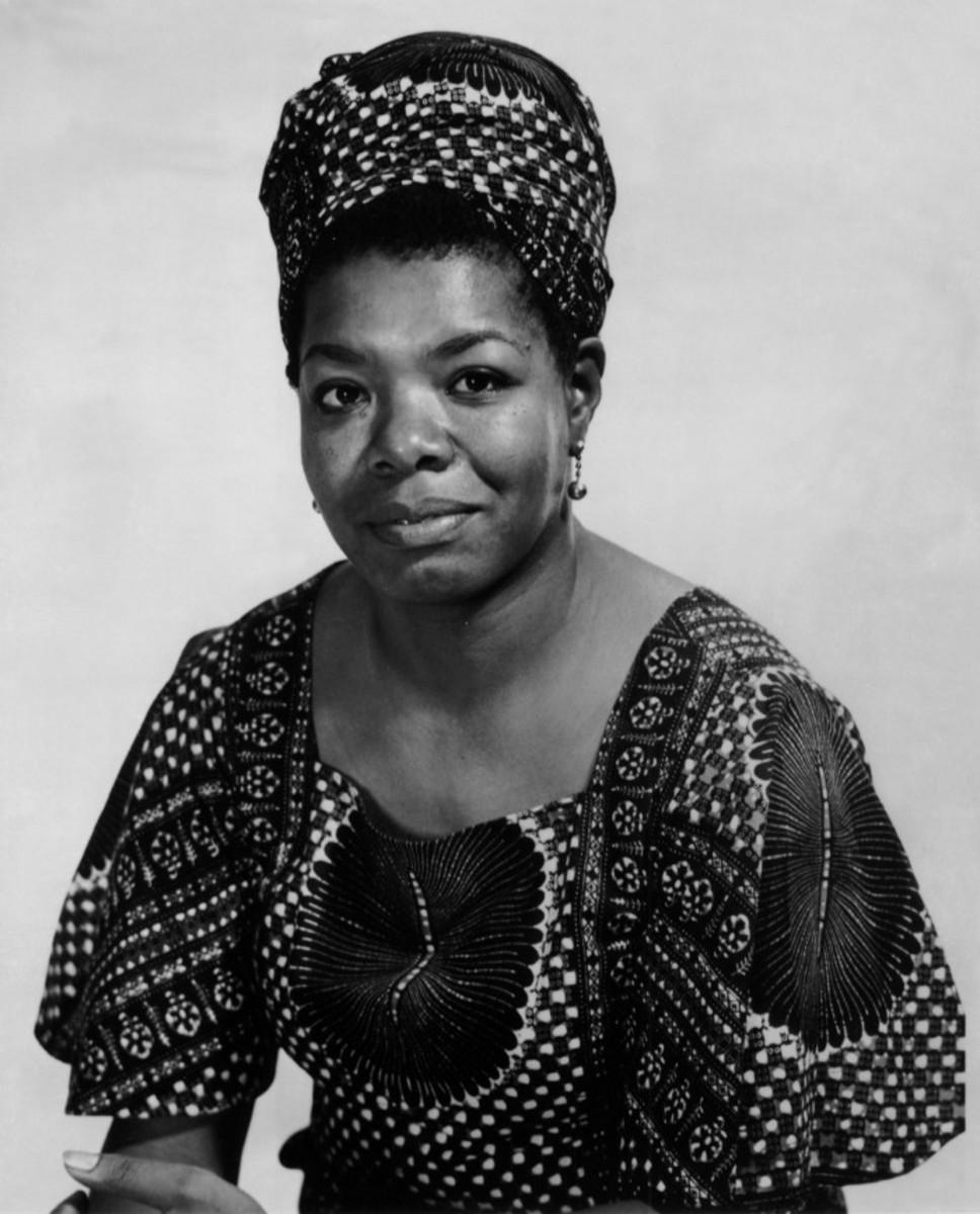 Portrait of Maya Angelou