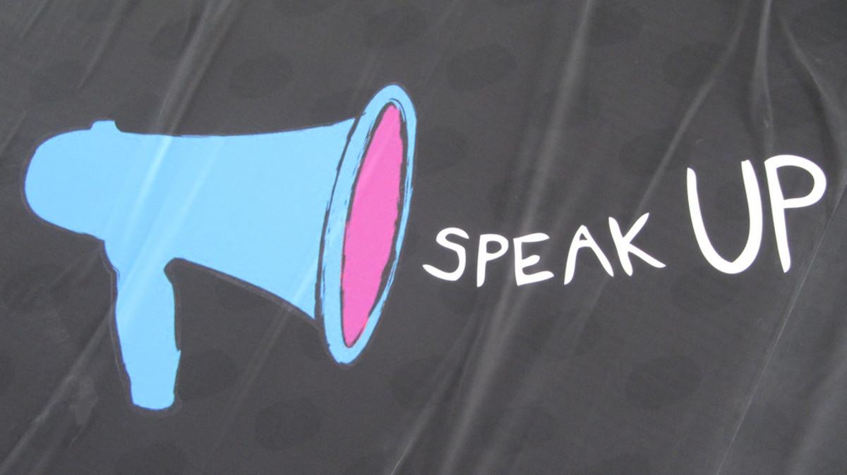 Speak megaphone image