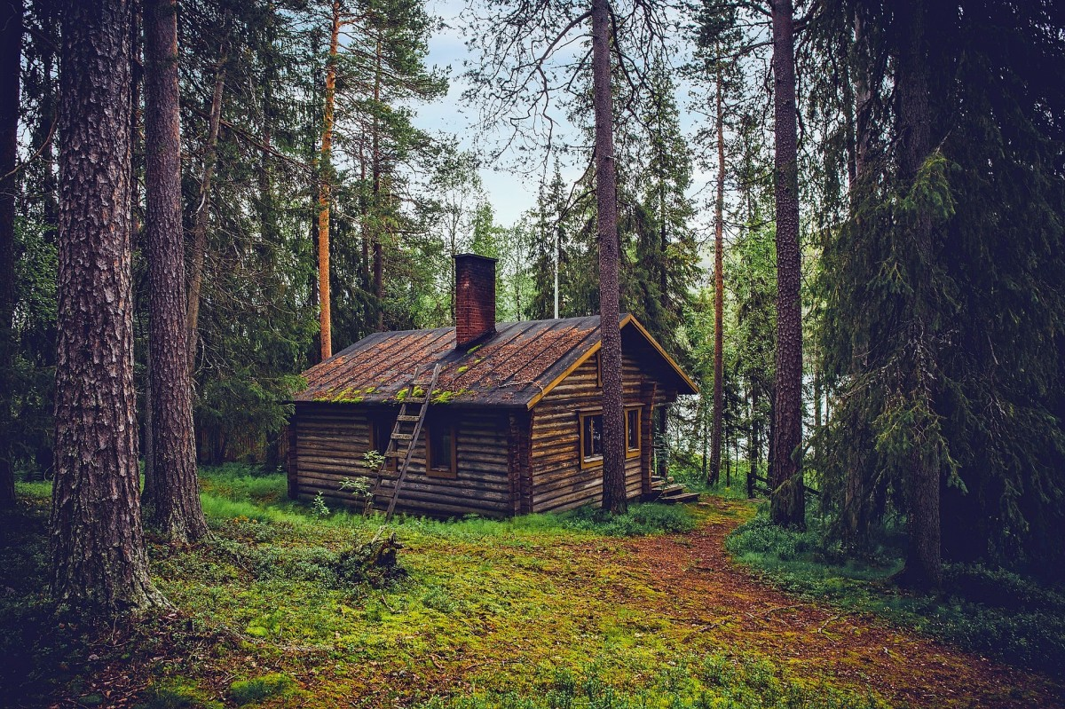 """""""A dwelling to keep out the wind and rain"""": Image by David Mark from Pixabay"""