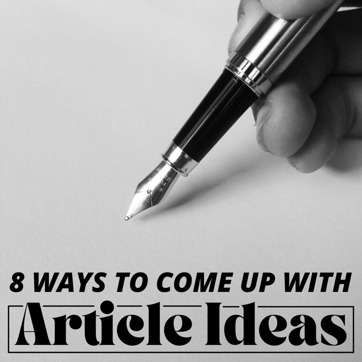 You need the perfect topic to write an article. Sometimes brainstorming one can be challenging.