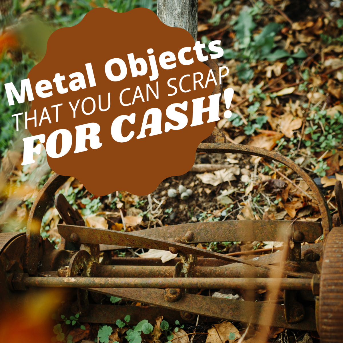 A Few Odd Metal Objects You Can Recycle for Cash